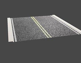 Asphalt Street Kit - Rua de Asfalto 3D asset