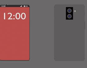 electronics phone 3D model