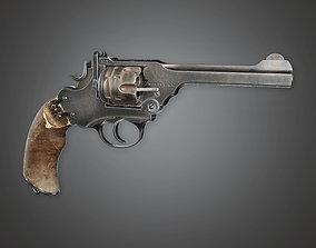 3D asset FPS Western Pump Shotgun - RageBull - WES - PBR 1