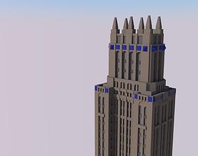 3D printable model Lefcourt Colonial Building
