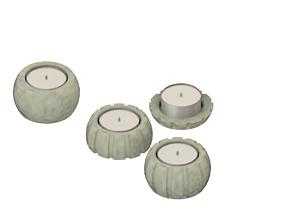 Tea Light Bowls 3D Printable 3D print model