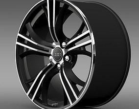 3D model Audi R8 Exclusive rim