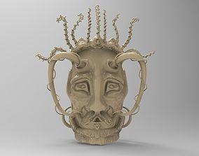 3D model Set of 18 decorative masks
