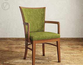 3D wood Fairfield 8771-04 Mapleton arm chair