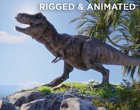 3D model Tyrannosaurus Rex T rex Jurassic Park