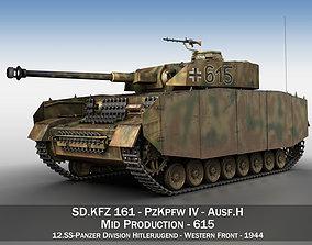 3D PzKpfw IV - Panzer 4 - Ausf H - 615