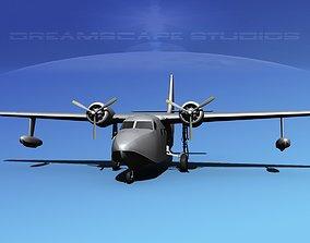 Grumman G-73 Bare Metal 3D model