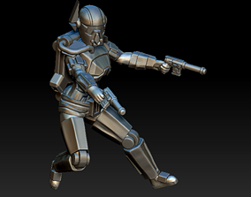3D printable model Ancient Bounty Hunter