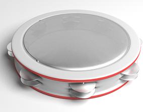 3D model Tambourine Drum