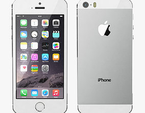 Apple iPhone 5S All Color 3D model