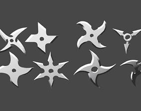 3D model Shurikens