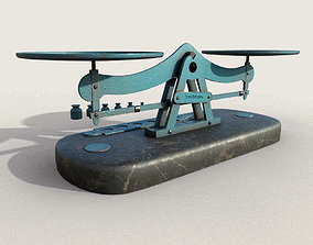 3D model Old Balance Scale