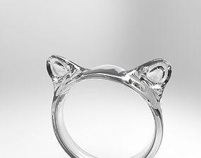 3D print model Lucky Cat Ear Napkin Ring