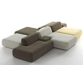 3D model Cloud Sofa