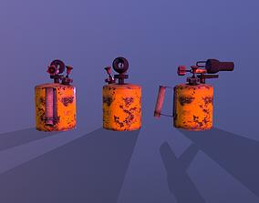 Blowtorch 3D asset