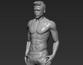 Tyler Durden Brad Pitt from Fight Club 3D printing ready