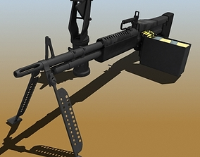 M60 Machine Gun 48589 3D model