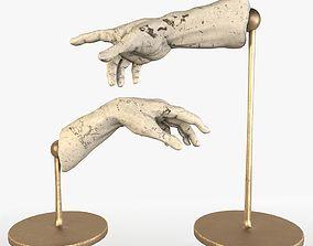 3D model The Creation of Adam Sculpture