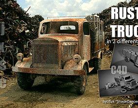 3D Rusty Truck rusty