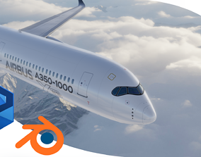 Airbus A350-1000 XWB AIRBUS LIVERY 3D model