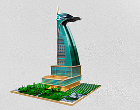 Avengers tower fully detailed with detailed 3D model 1