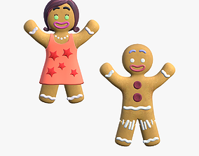 Gingy and Sugar 3D model