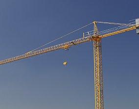3D Hammerhead Tower Crane 4 - Construction Crane