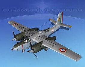3D Douglas A-26B Invader France