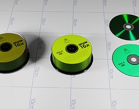 A Collection of Compact-disks 3D
