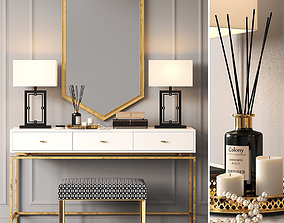 Dressing table LILI by ROOMA DESIGN 3D model