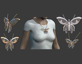 Steampunk butterfly design 3D model