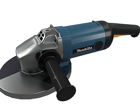 Angle Grinder Makita Clean 3D asset realtime