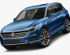 v-ray Volkswagen Touareg 2019 3D model