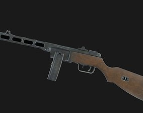 3D model VR / AR ready PPSh-41