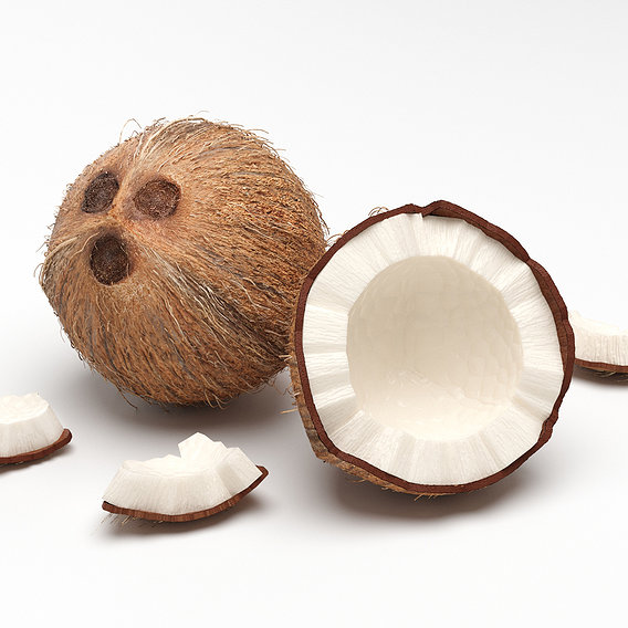 Coconut Whole ad Party on Scene