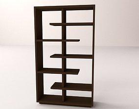 Bookshelf v1 3D model