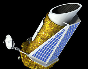 3D model Kepler Space Telescope