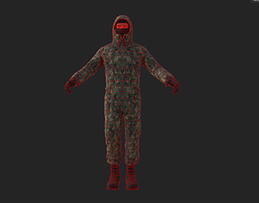 Military character 3D asset