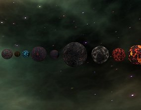 3D model realtime The Ultimate Planet Package