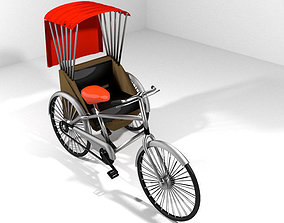Rickshaw - Side-driver 3D