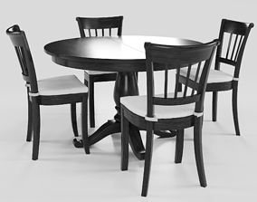 3D Round Dining Group