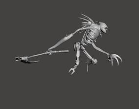 Fiddlesticks 3D Model