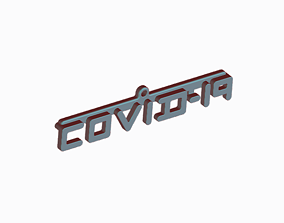 3D printable model COVID-19 PENDANT -TRIBUTE TO HEALTHCARE