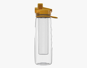 natural 3D water bottle