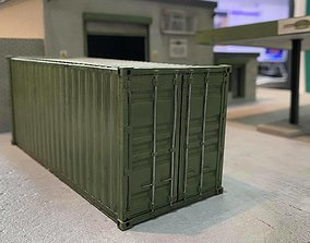 20FT SHIPPING CONTAINER 7MM SCALE O GAUGE MODEL