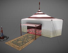 3D asset Arabic Tent
