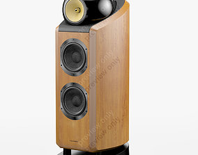 3D model Bowers and Wilkins 802 D2 Cherrywood