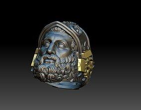 Hephaestus Greek god ring 3D print model