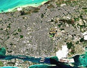 Nassau Bahamas island nassau 3D model