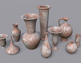 Vases PBR - Vol 4 3D asset